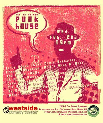 Punk House Flyer